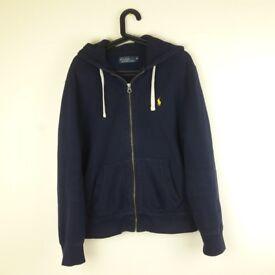 Ralph Lauren Navy Blue Hoodie Size M