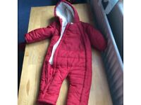 12-18months old winter coat-used
