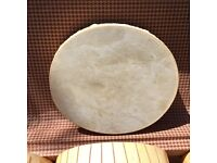 Hand made real hide shamanic drums 11 inch and 8 10 inch tambourines