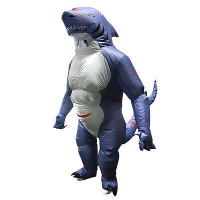 Aufblasbare Kostüm Tier Shark Outfit Halloween Cosplay Erwachsene - Aufblasbare Outfits