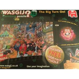 WASGIJ 12 Christmas puzzle . Not just 1 puzzle 2 ( 1 FREE)