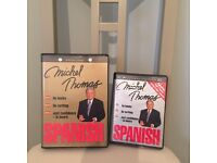 Learn Spanish DVDs £10 for both