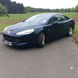 Peugeot 407 coupe (low miles !)