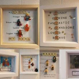 Fathers Day gifts frames marvel scrabble