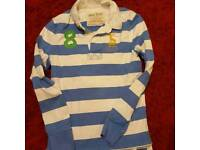 Jack Wills rugby shirt size s