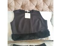 Ladies top and skirt