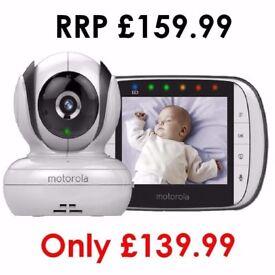 "Motorola MBP36S Digital Camera Video Baby Monitor - Night Vision 3.5"" Colour LCD"