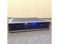 JB Systems AMP200.2 2 x 200 Watt Amplifier With Cobra Flight Case. Immaculate.