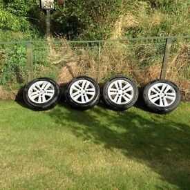 16inch Vauxhall alloys and new tyres