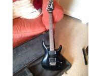 Ibanez JS600 Electric Guitar in Black.
