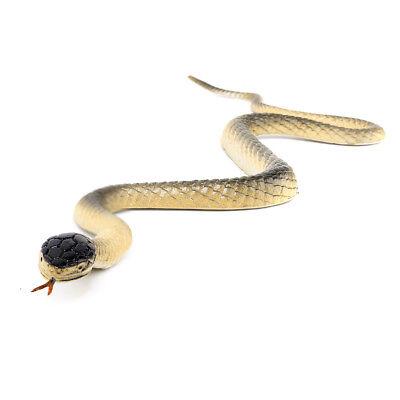 Realistic Rubber Fake Snake Wild Reptile Toy Garden Prop GAG Joke Prank Gift (Realistic Rubber Snakes)