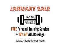 FREE Personal Training inc Pre/Post Natal Personal Training with Top Qualified Personal Trainer