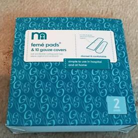 Feme pads and Gauze covers