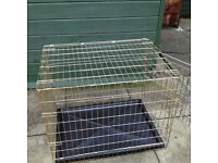 Large dog cage