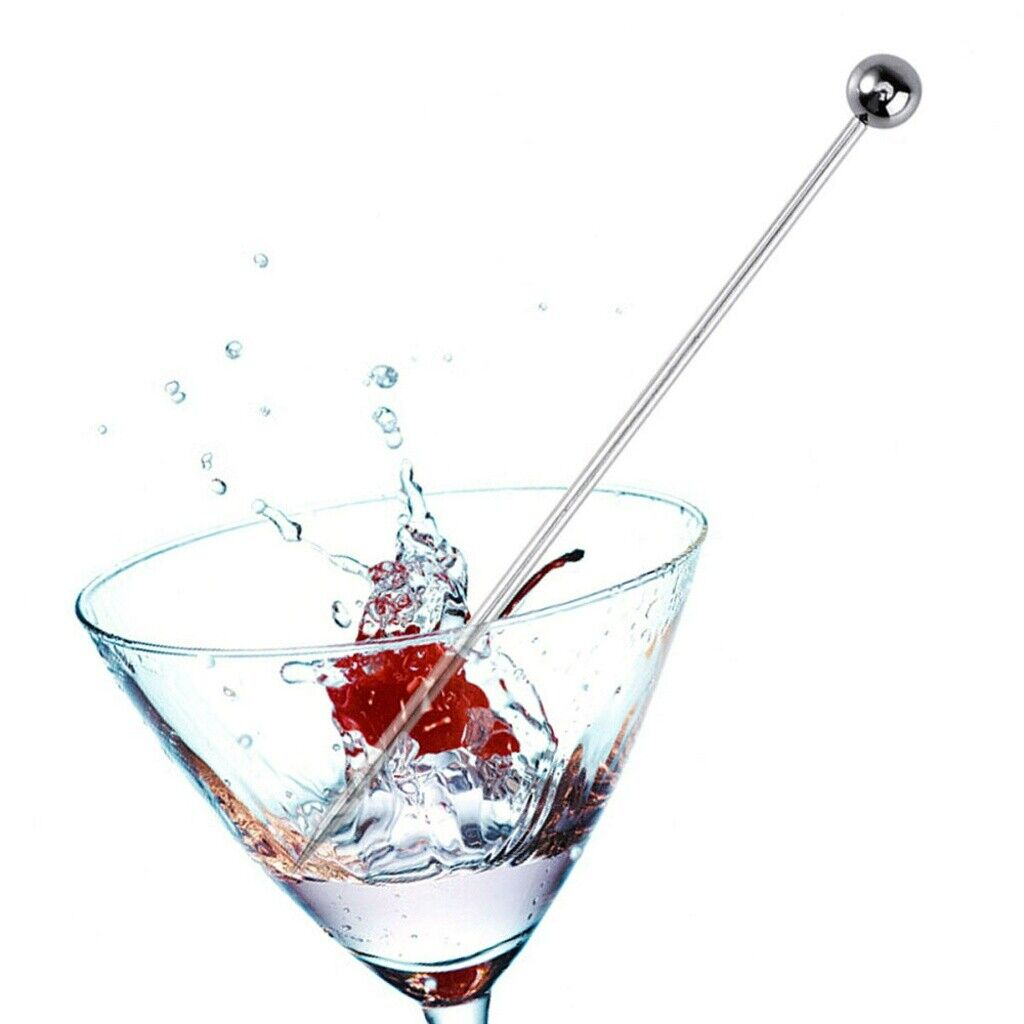 12PCS Stainless Steel Cocktail Picks Toothpicks Fruit Picks for Party