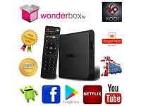 T95X 2gb RAM 16gb ROM 64 bit Quad Core 4K Android 6 Marshmallow Smart TV Box, Kodi 17.4 Krypton