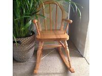 Kid Pine Rocking chair