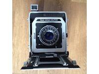 Super Speed Graphic 4x5 Large Format Film Camera