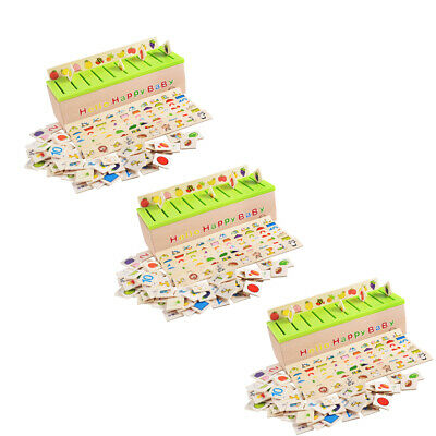 3 Set Montessori Materiale Didattico Raggruppamento Di Giocattoli Di