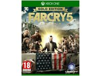 FIFA 18 | Far Cry 5 | The Crew 2 1 - Xbox One Brand New Sealed