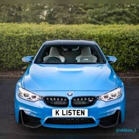 "Private Plate ""K L15TEN"" (ok listen) **OFFERS ONLY** private reg, for Audi BMW VW Seat Mercedes"