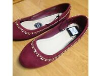 Two pair shoes size 6 new