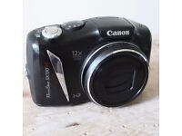 Canon PowerShot SX130 IS 12.1MP Digital Camera Black Video Photo