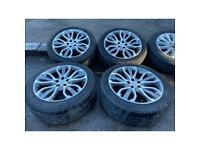 "21"" land Range Rover alloy wheels rim alloys rims Pirelli tyres sport vogue defender discovery 5x120"