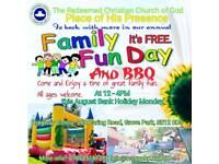 FREE Family Fun Day and BBQ