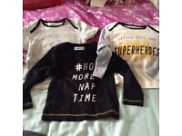 Brand new boys tops REDUCED PRICE