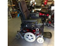 Electric Wheelchair with headrest