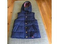 Boden Johnnie B Navy Blue Girls' Quilted Jacket/Gilet