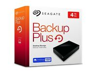 Seagate Backup Plus 4TB USB 3.0 External Hard Drive PC PS4 MAC XBONE