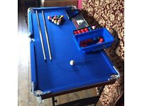 snooker table junior size