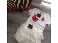 Lavin Paris top and skirt