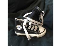 Black Infant Converse - Size 3