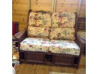 conservertry style 3 peice sofas