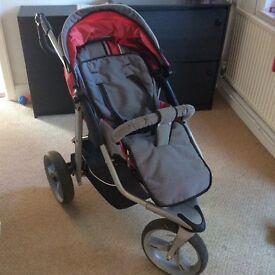 Running buggy / stroller