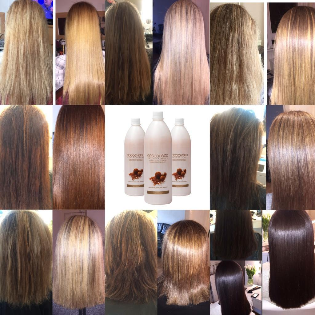 Straight perm edinburgh - Cocochoco Brazilian Keratin Treatment