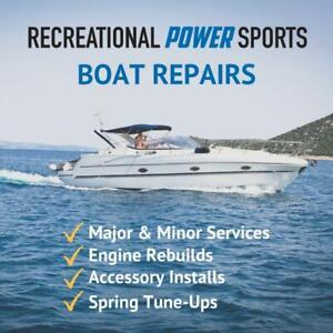 Boat Repairs – Book Your Spring Service!