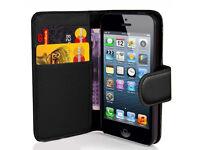 iphone 5 luxury leather flipcase