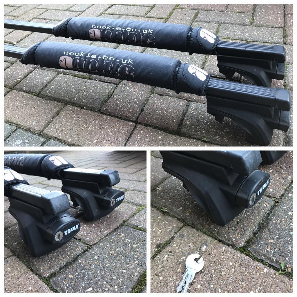 Thule roof bars vgc