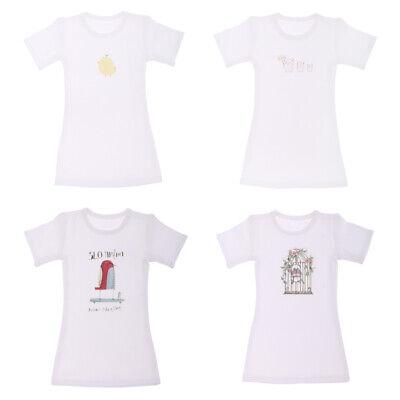 Summer Cool T- Shirt Dress for 1/4  BJD MSD LUTS Girls Doll Dress Up