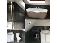 Bathroom and kitchens