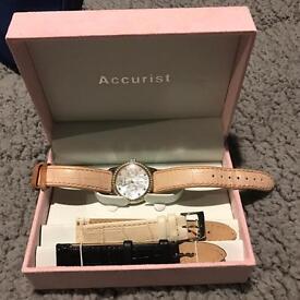 Ladies accurist watch