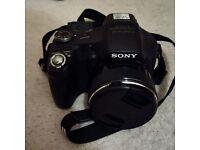 Sony Cyber-shot DSC-HX100V 16.2MP Digital Camera - Black - Rarely Used