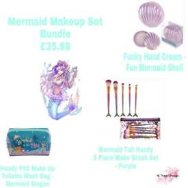 Mermaid Makeup set Bundle £35.98