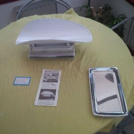 Collectible and/or useable Salter Baby and kitchen scales in excellent condition from c1970s