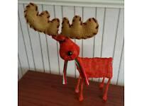 Red Christmas Reindeer
