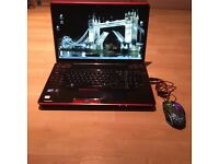 GAMING TOSHIBA QOSMIO X500, 18,4 INCH,CORE i7,4GB RAM, FREE BAG + MOUSE, XMAS SALES, L@@K!!